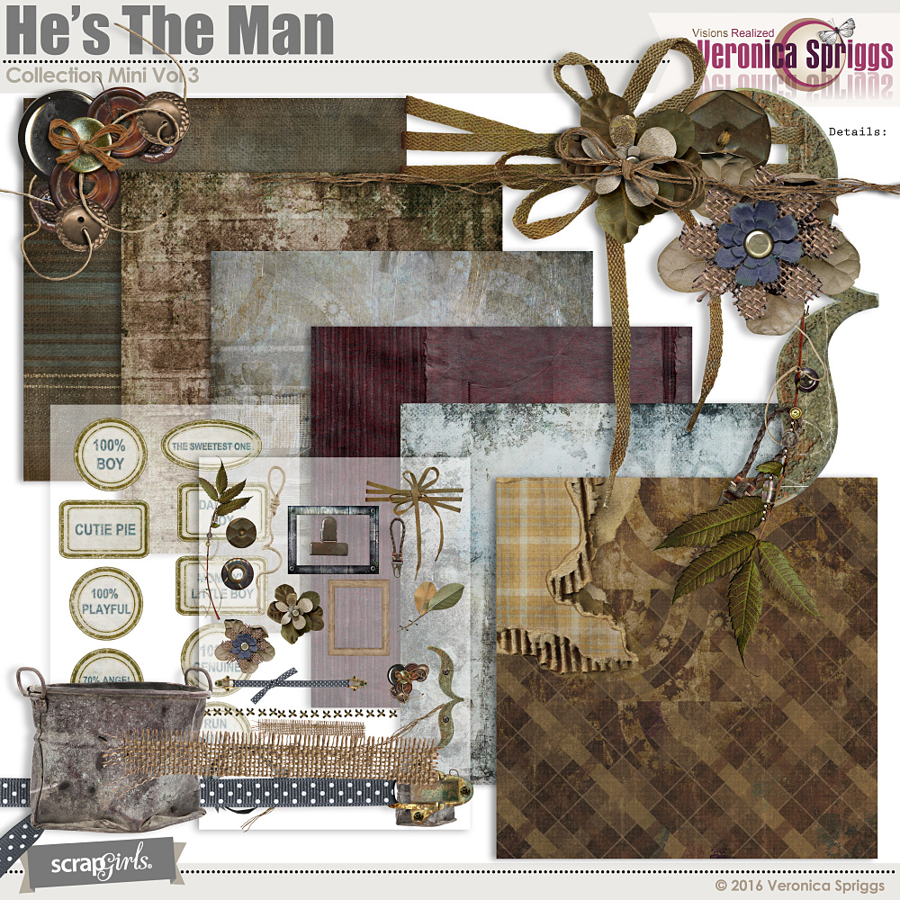 He's The Man Collection Mini Vol 3