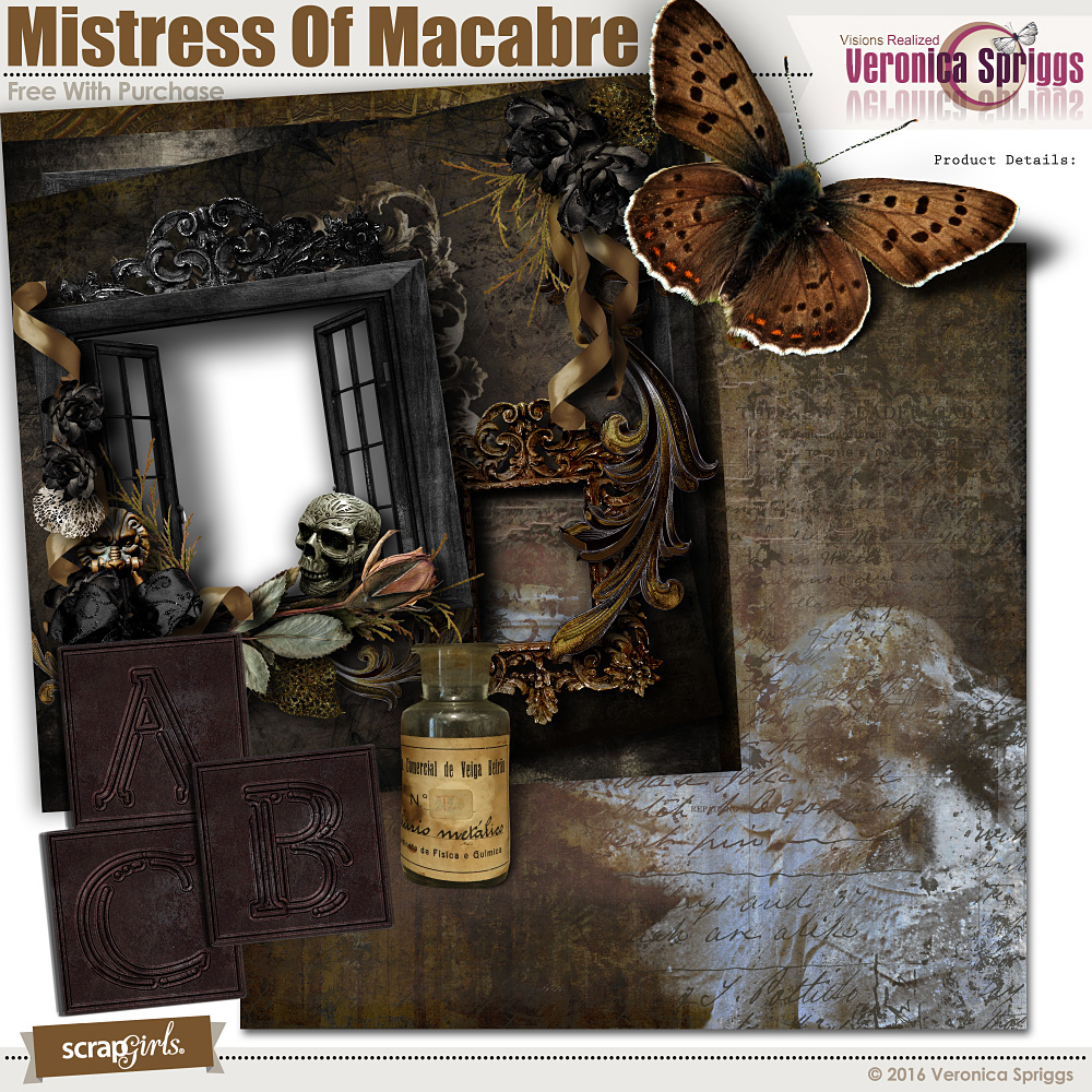 Mistress Of Macabre Free With Purchase