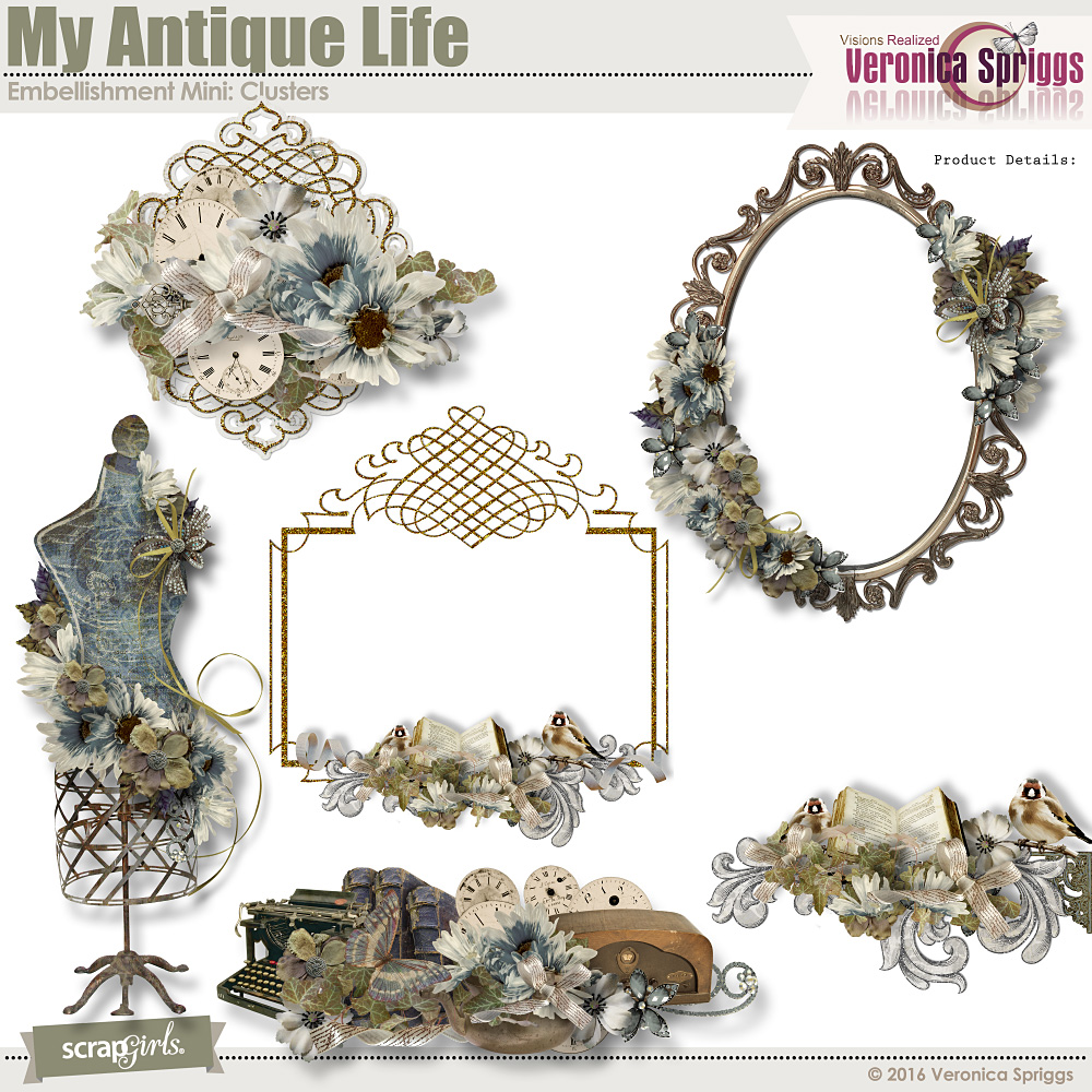 My Antique Life Clusters