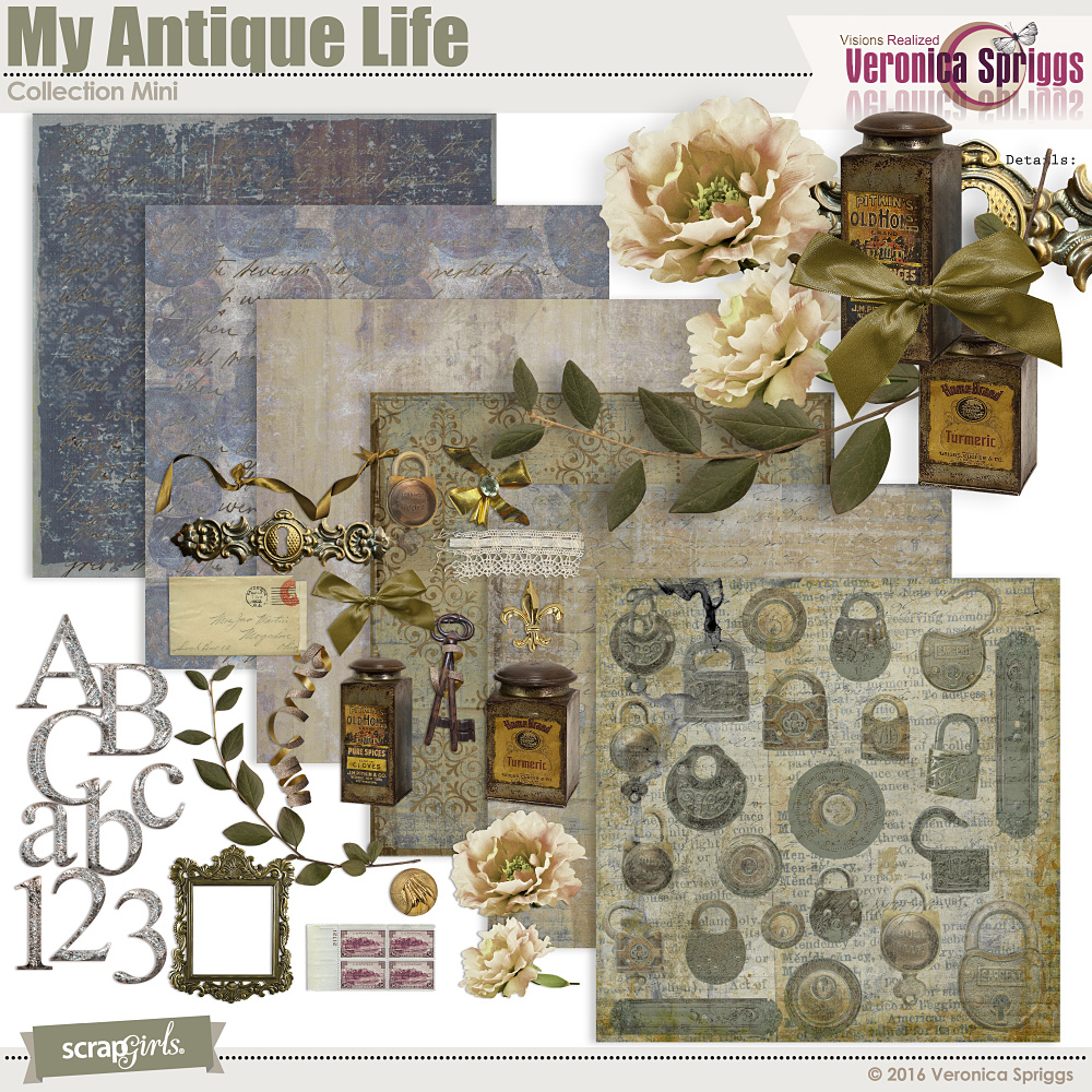 My Antique Life Collection Mini