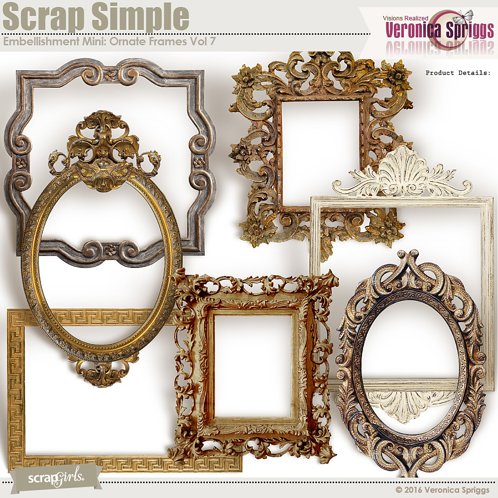 Ornate Frames Vol 7