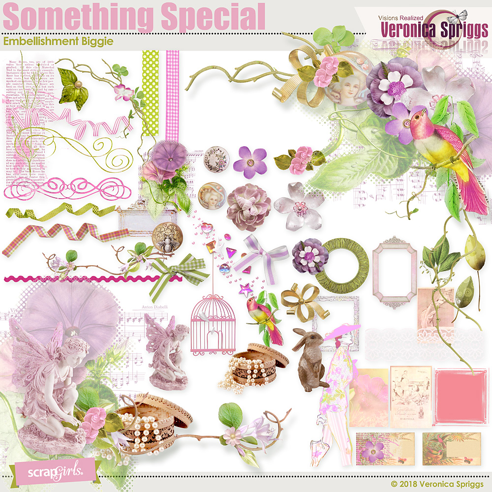 Something special embellishment biggie by veronica spriggs - Something special ...