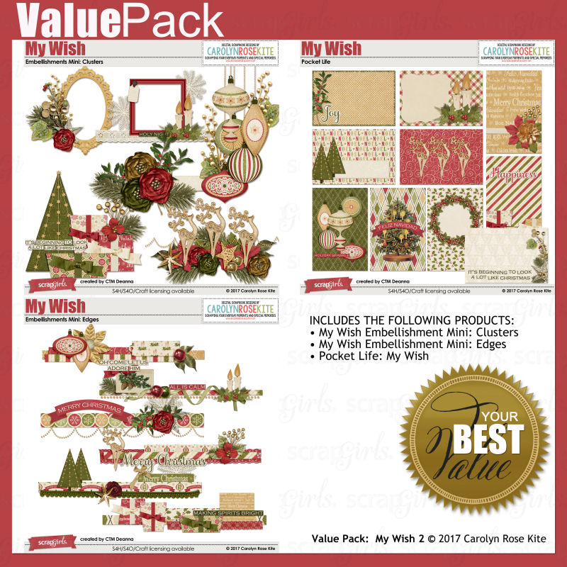 Value Pack My Wish 2