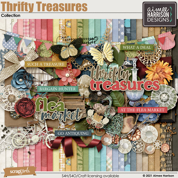Thrifty Treasures Collection