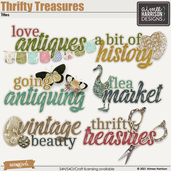 Thrifty Treasures Titles