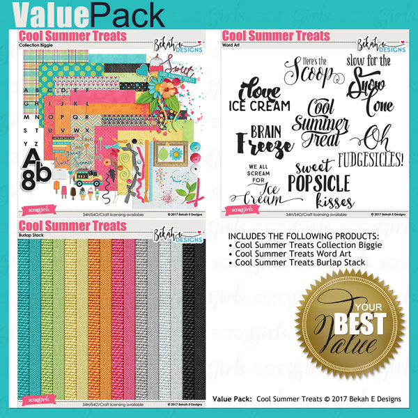 Value Pack: Cool Summer Treats