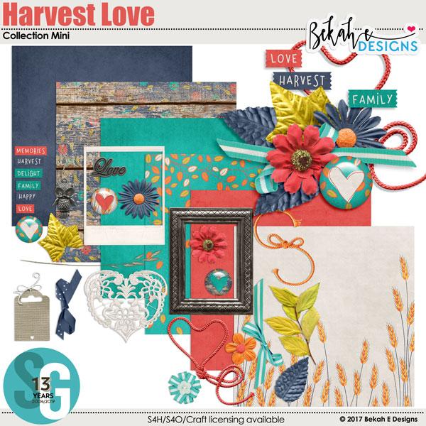 Harvest Love - Collection Mini