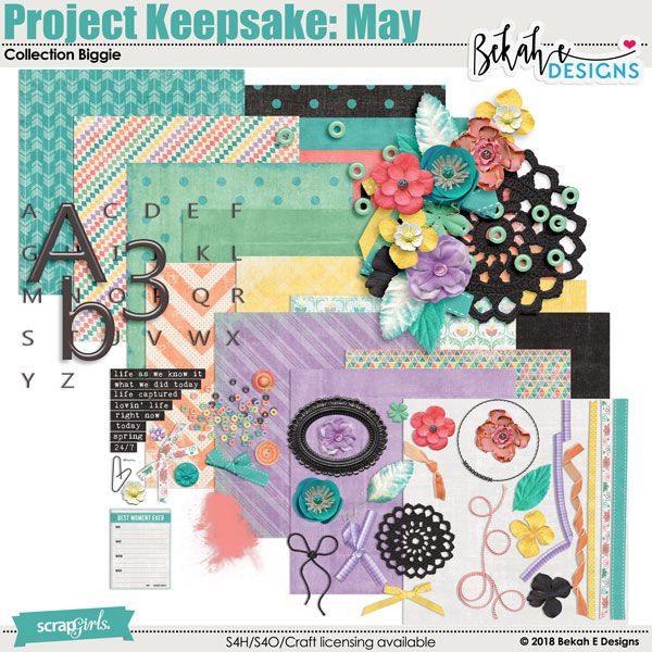 Project Keepsake: May - Collection Biggie
