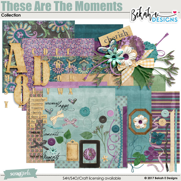 These Are The Moments - Collection by Bekah E Designs