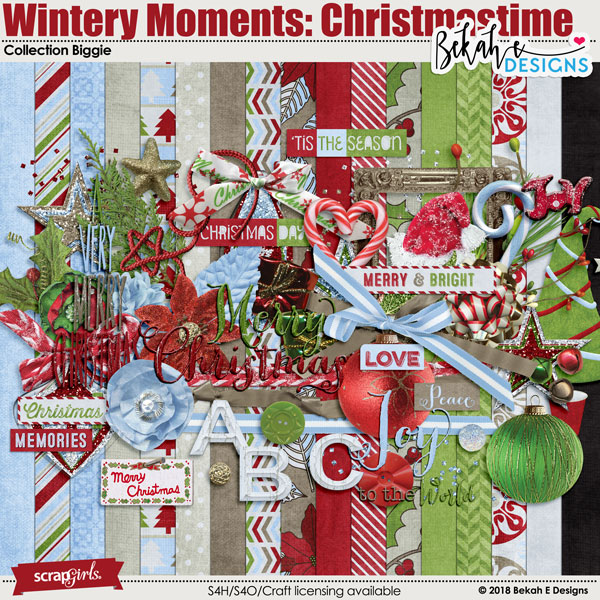 Wintery Moments: Christmastime - Collection Biggie