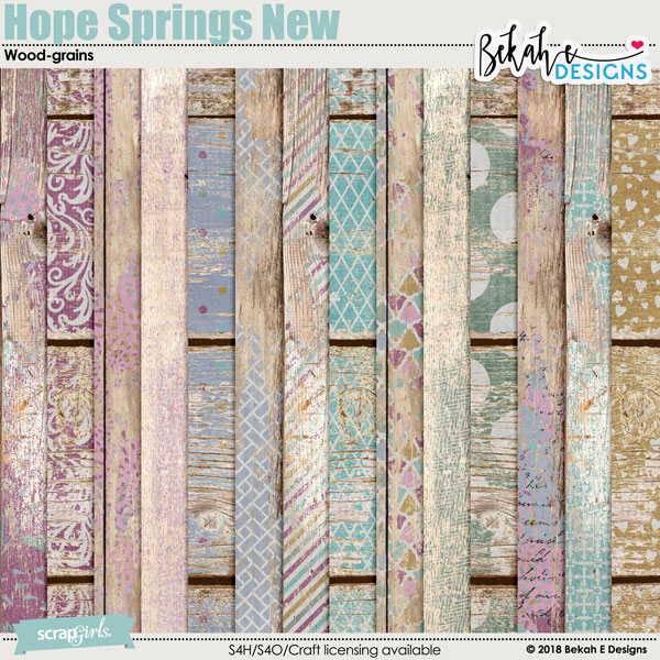 Hope Springs New - Wood-grains