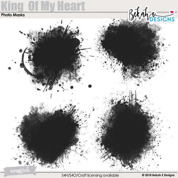 King Of My Heart - Photo Masks