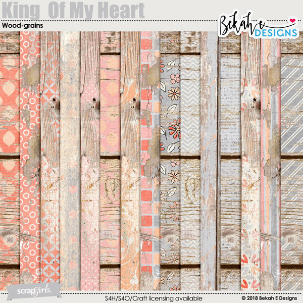 King Of My Heart - Wood-grains