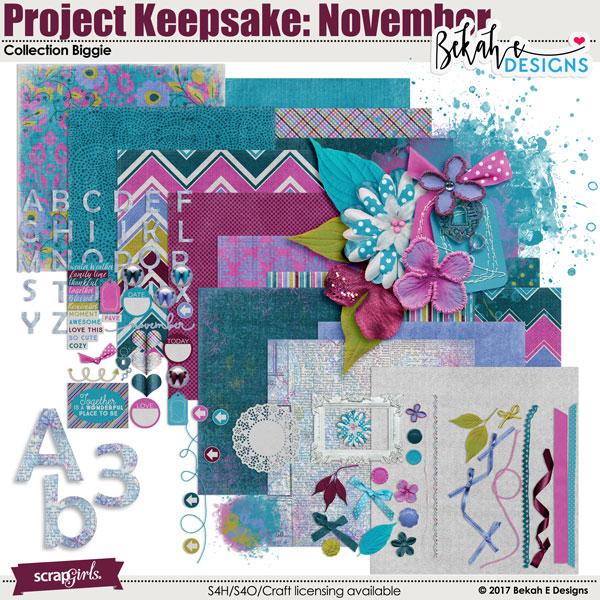 Project Keepsake: November - Collection Biggie