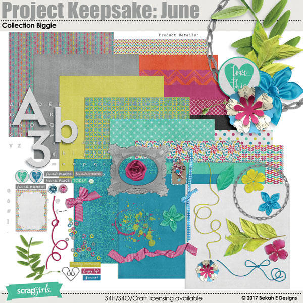 Project Keepsake: June Collection Biggie