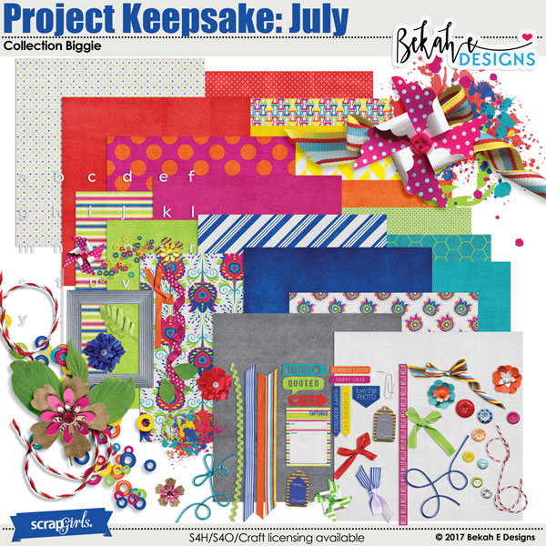 Project Keepsake: July Collection Biggie