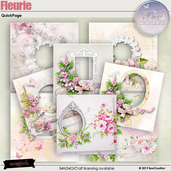Fleurie Album by BeeCreation