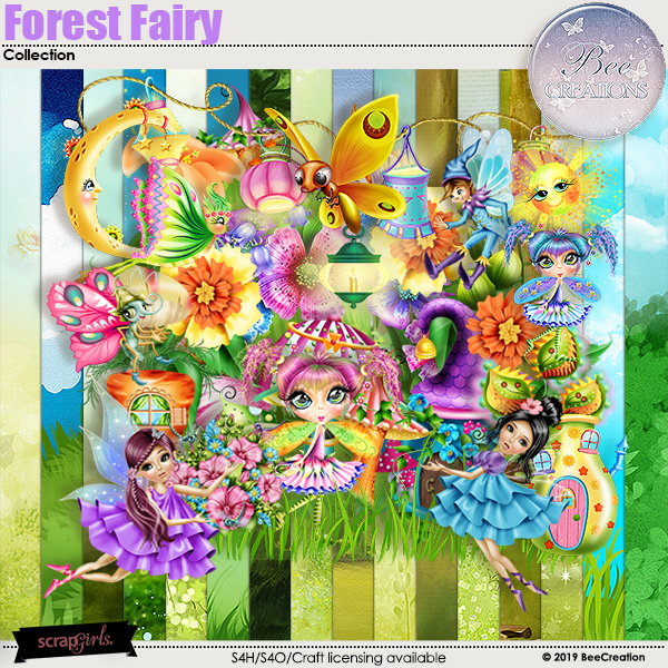 Forest Fairy Collection