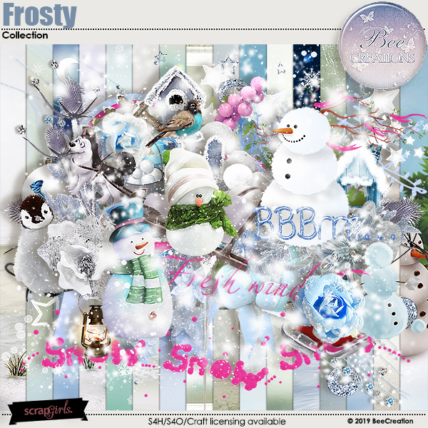 Frosty Collection by BeeCreation