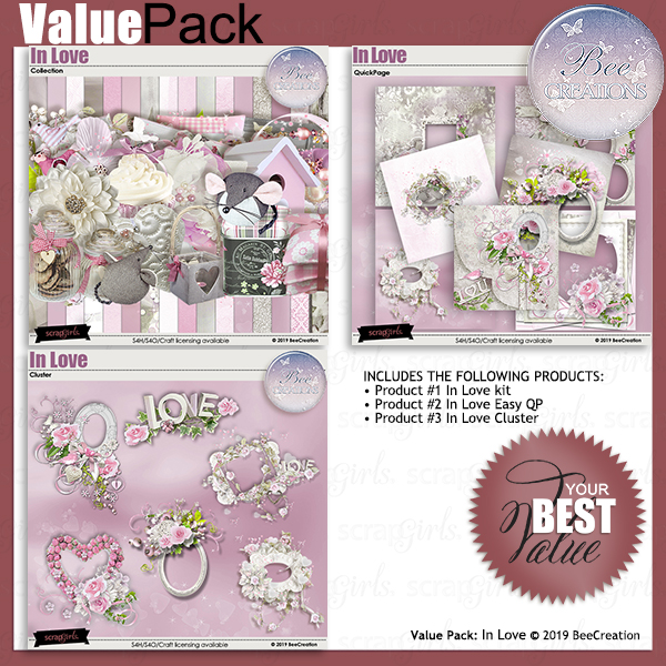 Bee Creation In Love Value Pack