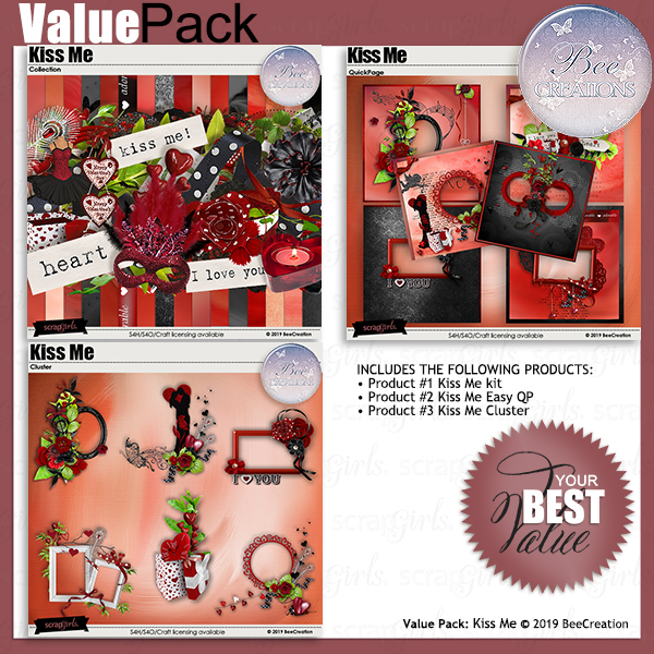 Bee CreationKiss Me Value Pack