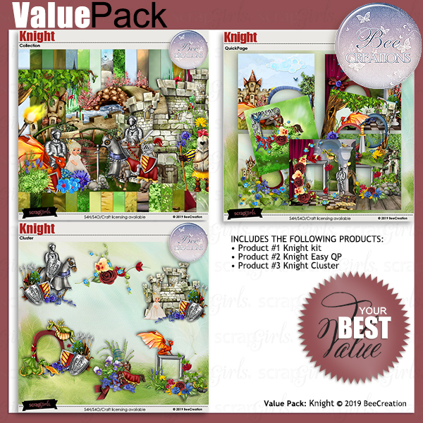 Bee Creation Knight Value Pack