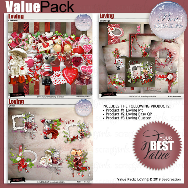 Bee Creation Loving Value Pack
