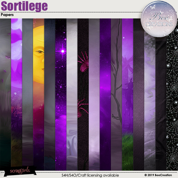 Sortillege Papers by BeeCreation