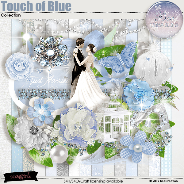 Touch of Blue Collection
