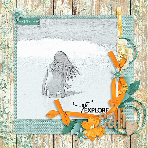 Layout by Joanna using Value Pack: Adventure Awaits