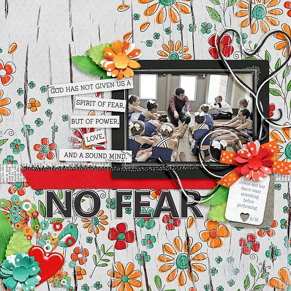 Layout by Joanna using No Fear