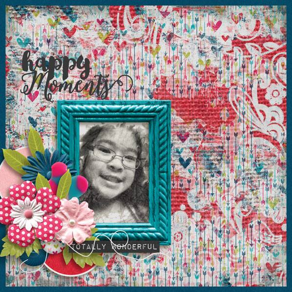 Layout by Penny Unforgettable - Collection Biggie