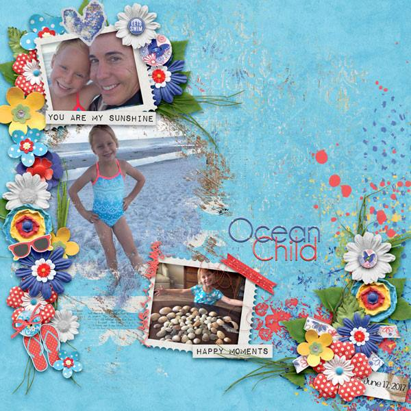 Layout by Kathryn using Hello Sunshine - Collection Biggie