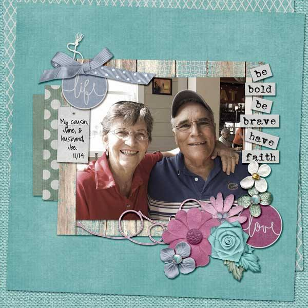 Layout by Kathryn using Hope Springs New - Collection Biggie