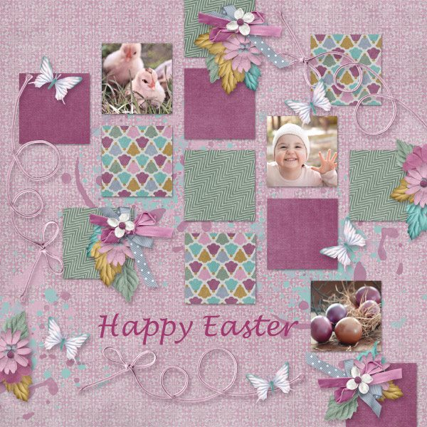 Layout by Olga using Hope Springs New - Collection Biggie