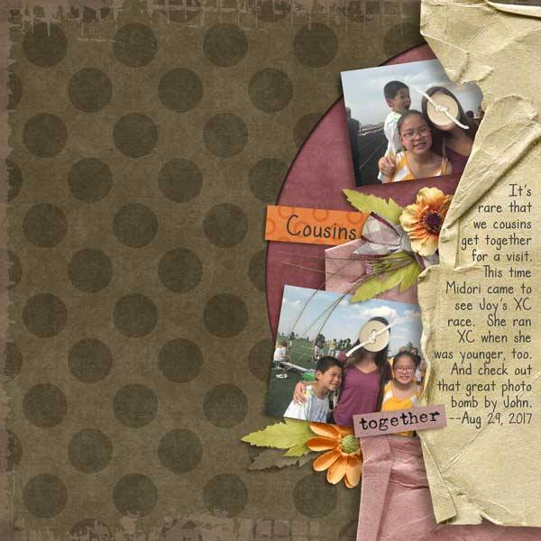 Layout by Penny using What It's All About - Worn & Torn