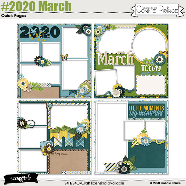 #2020 March By Connie Prince
