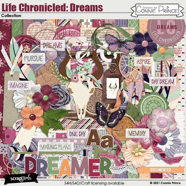 Life Chronicled: Dreams by Connie Prince