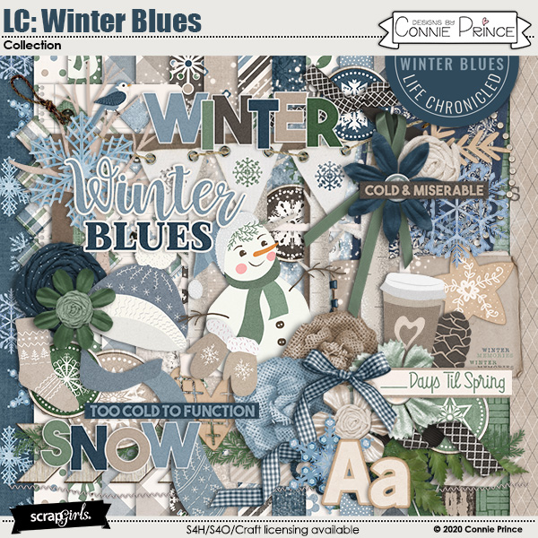 Life Chronicled: Winter Blues by Connie Prince