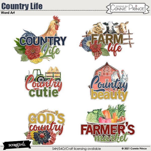 Country Life by Connie Prince