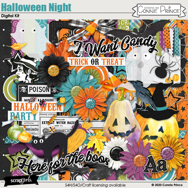 Halloween Night by Connie Prince