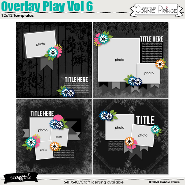 Overlay Play Volume 6 by Connie Prince