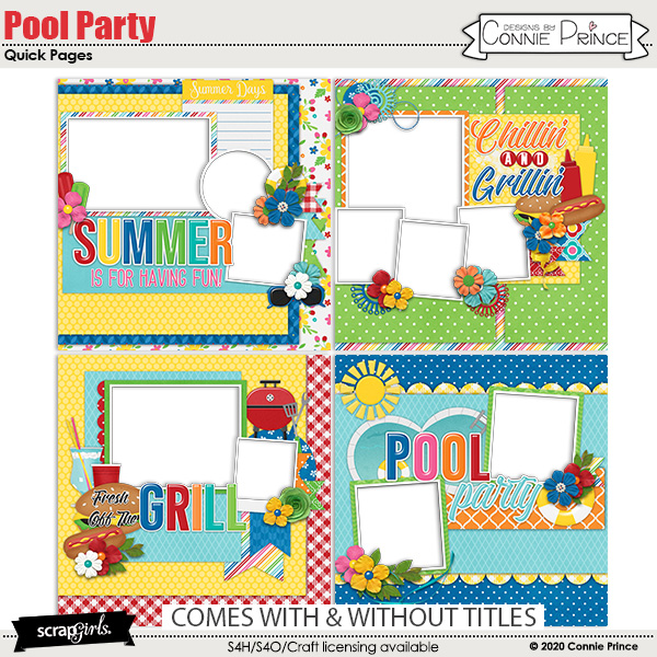 Pool Party by Connie Prince