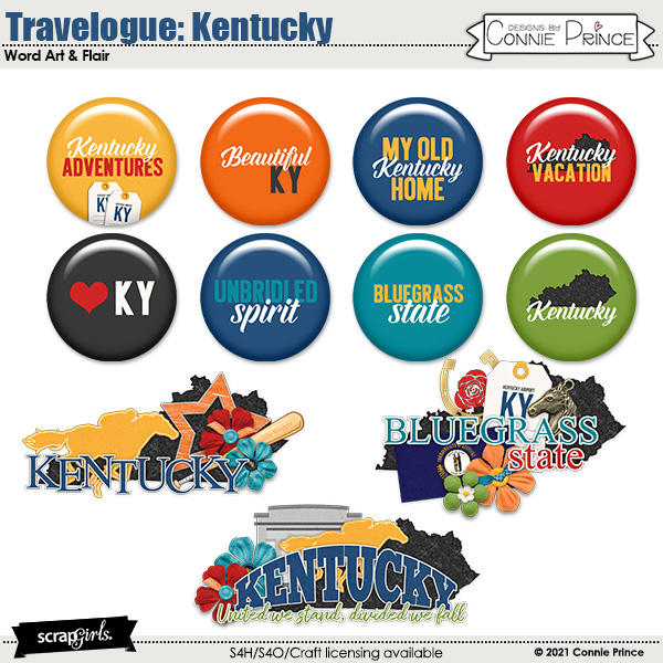 Travelogue Kentucky by Connie Prince