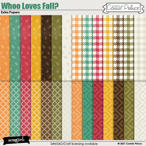 Whoo Loves Fall?  by Connie Prince & Adrienne Skelton