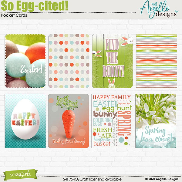 So Egg-cited! Pocket Cards