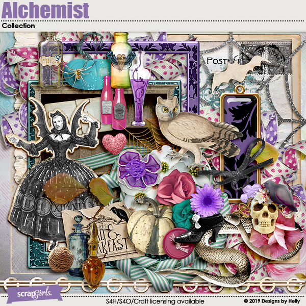 Alchemist Collection by Helly