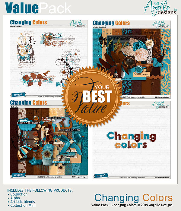 Changing Colors Value Pack