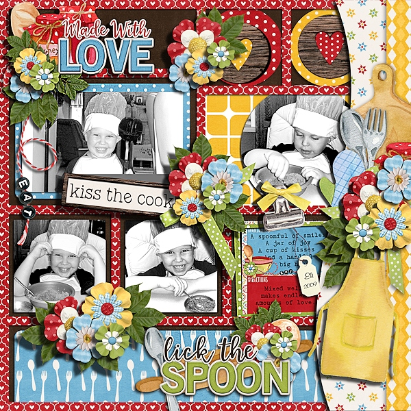 CT Layout using Soul Food by Connie Prince
