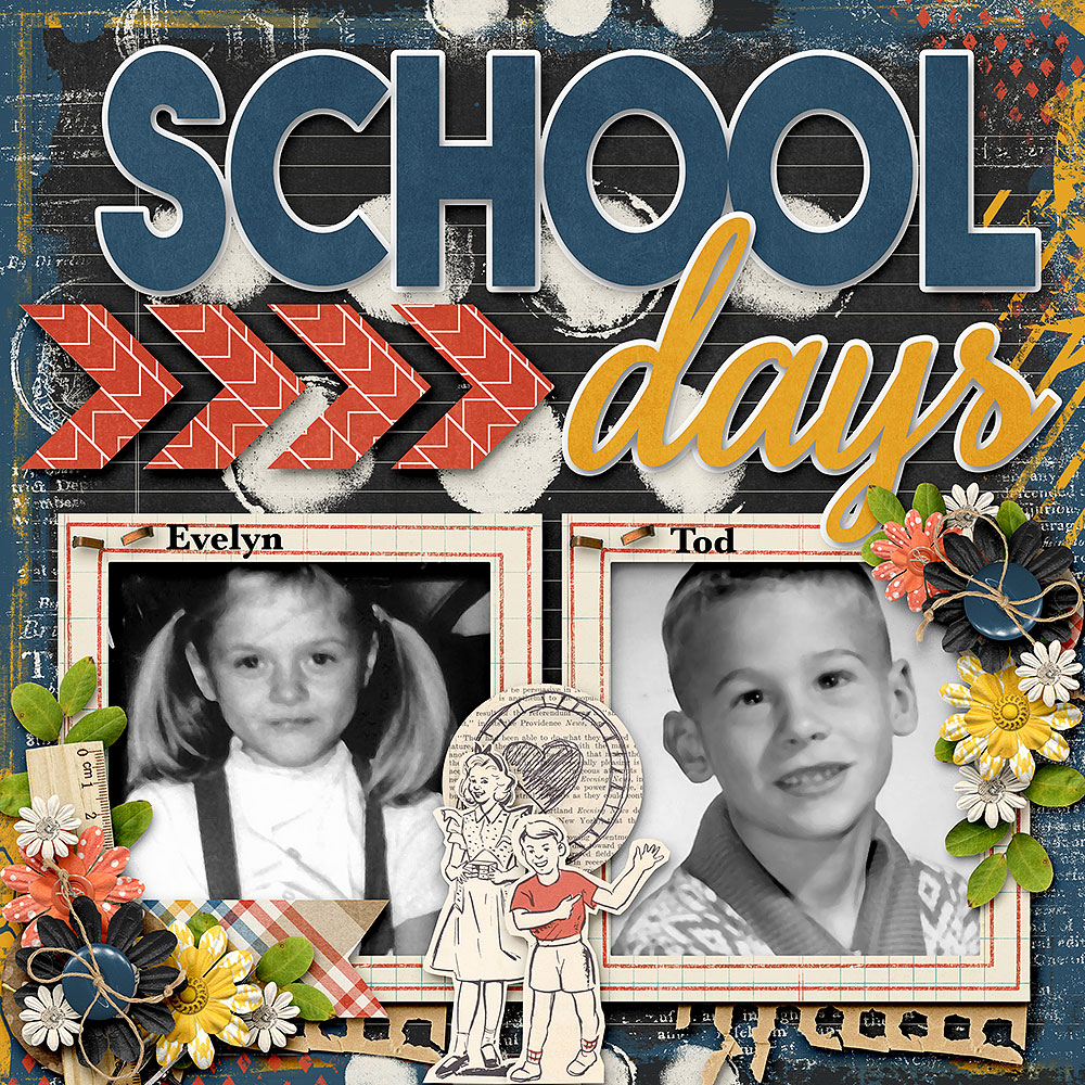 Life Chronicled: School Days by Connie Prince